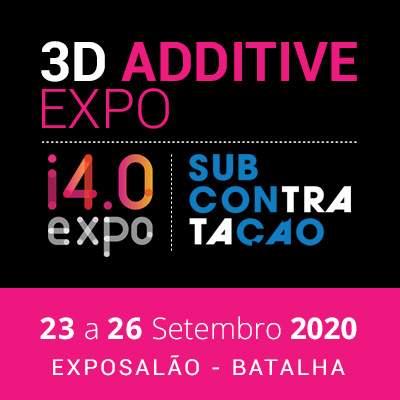 Feira de Impressão 3D e indústria 4.0 - ADIADA para 23 a 26 de Setembro 2020